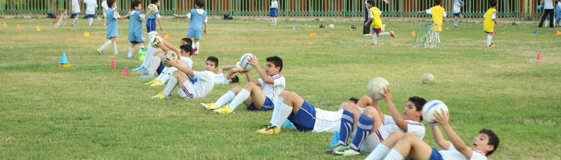 مدرسه فوتبال ورزشی